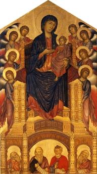 0034 Cimabue Maestà Santa Trinita