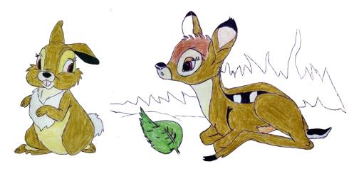 016 Bambi y Tambor