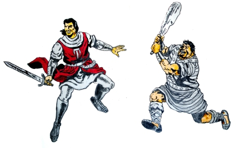 019 Capitan Trueno y Goliat
