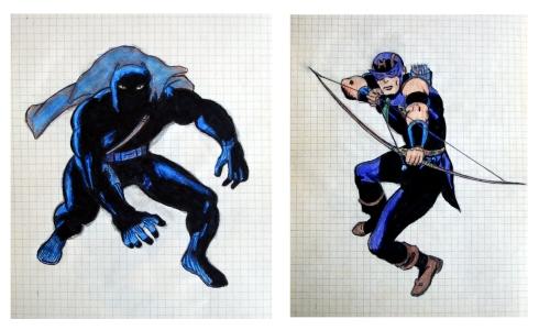 037 Pantera Negra y Ojo de Halcon