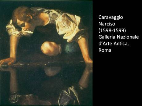 Caravaggio narciso