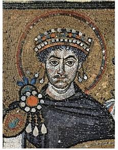 justiniano mosaico san vital ravena