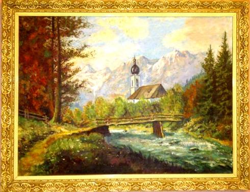 paisaje iglesia