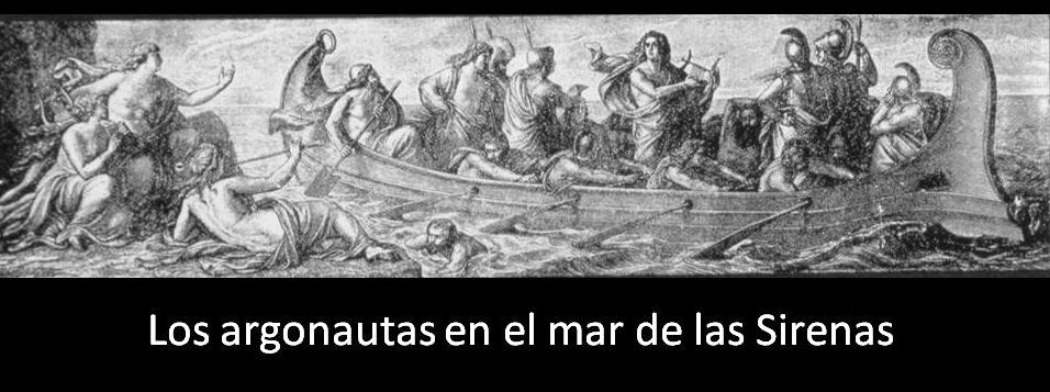 Resultado de imagen de argonautas y sirenas