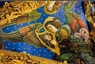 Angel músico catedral de Valencia