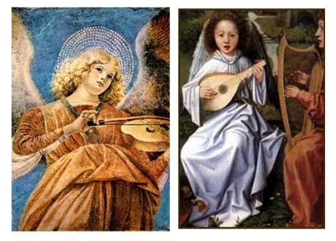 angeles musicos Melozzo da Forli