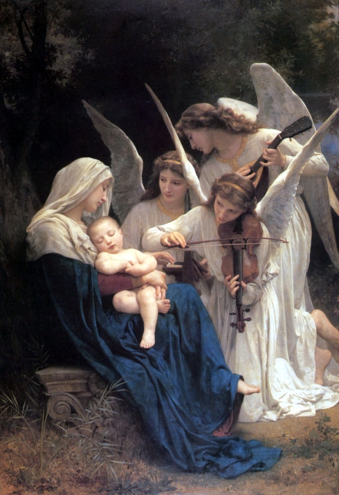 angeles musicso Bouguereau