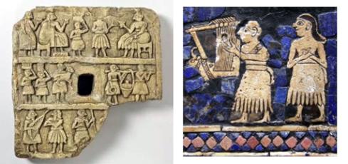placa periodo arcaico mesopotamico