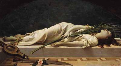 santa cecilia-muerte