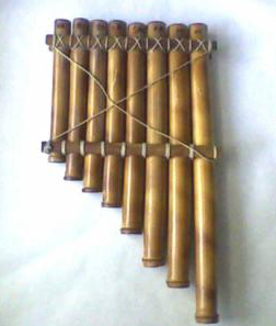 siringa o flauta  de pan
