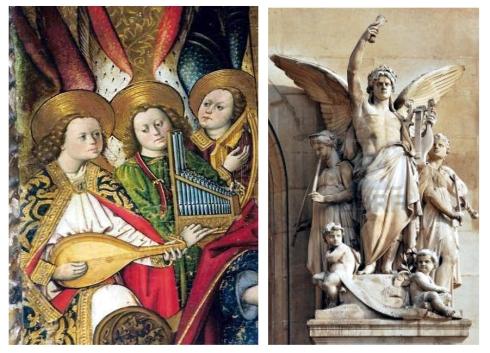 tomas giner  angeles músicos  Jean Baptiste Claude - opera Garnier Alegoria de la musica