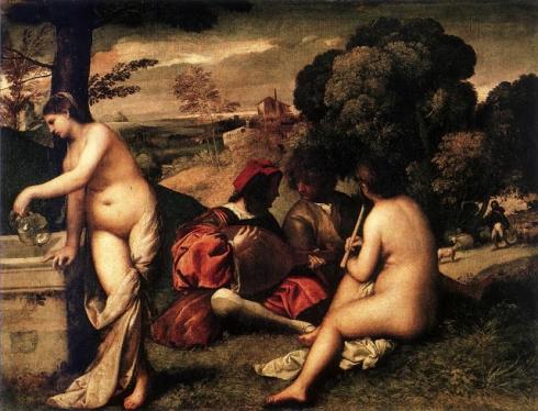 001 Concierto campestre. Tiziano