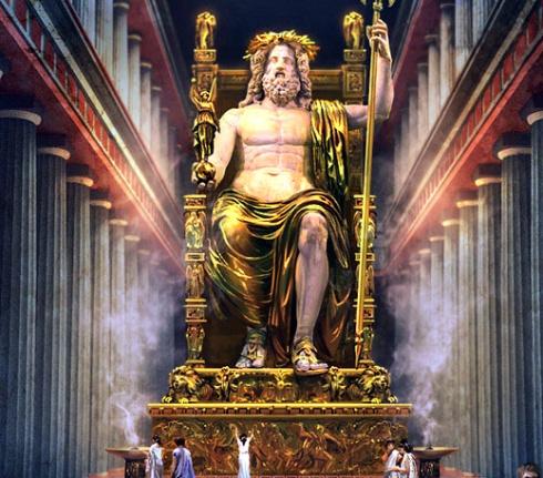 004 Estatua De Zeus En Olimpia