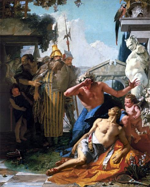 005 jacintoGiambattista Tiepolo-    La muerte de Jacinto