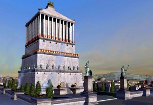 005 Mausoleo de Halicarnaso