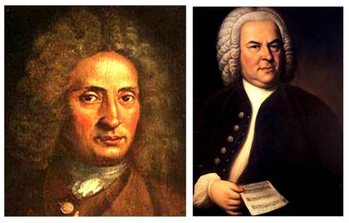 009 Giuseppe Torelli 1.658 J.S. Bach 1.685