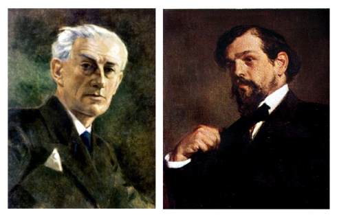 023 nauer ludwig maurice Ravel 1.875 - Claude Debussy 1.872