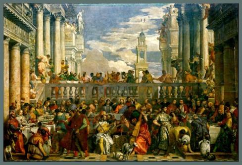 733 1 Bodas de Cana-Verones-Museo del Louvre