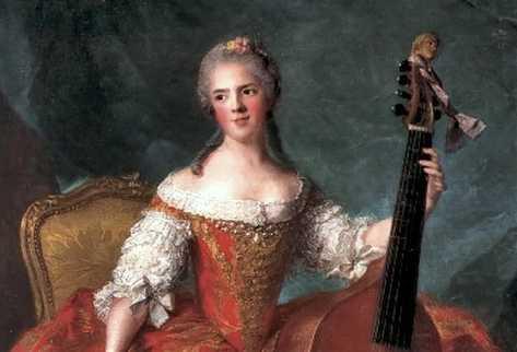 Anne-Henriette-FrancIa-Luis-XV viola