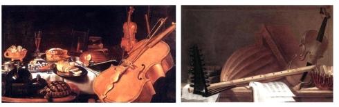 bodegon instrumentos musicales