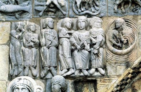 colegiata de san isidoro de leon, viola salterio y arpa