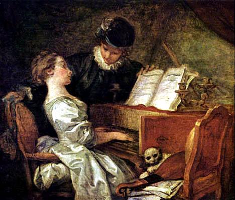 fragonard  musik stunde