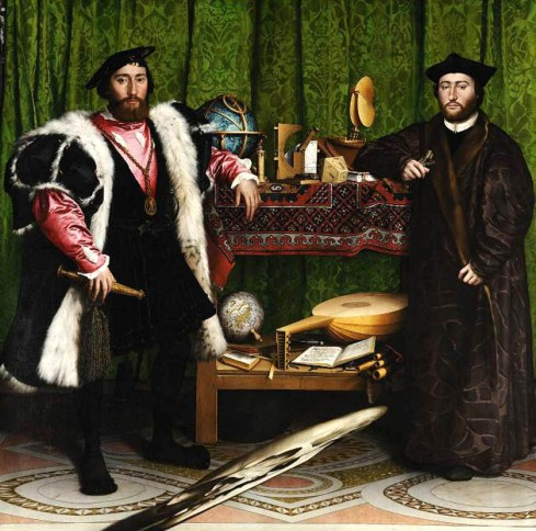 Hans Holbein-Los Embajadores  National Gallery Londres