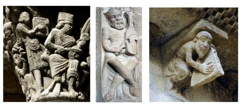 Iconografia_Musical_Romanico_Aragones_Jaca - el rey david