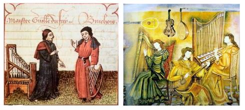 medieval guillaume dufay La música