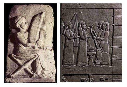 mesopotamia asirios arpa