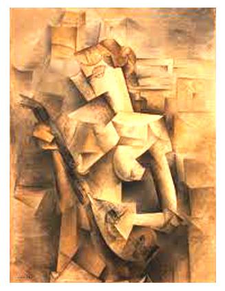 Picasso. El guitarrista - Mujer con mandolina