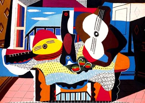 Picasso Guitara y mandolina