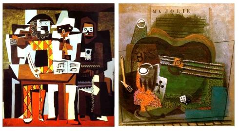 tres musicos picasso - Ma Jolie