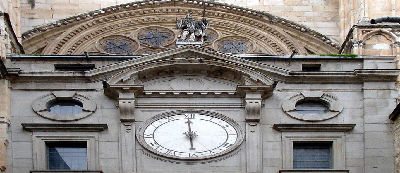 Reloj La Catedral Puerta De Del – Toledo MqSVUzpG