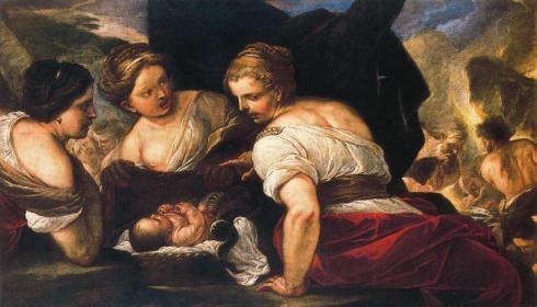 Luca-Giordano-las hijas de cecrope