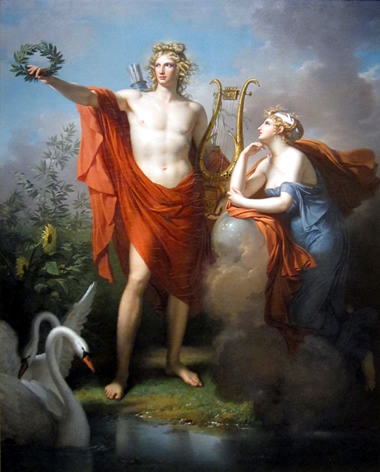027 Apollo y Muses, Charles_Meynier,