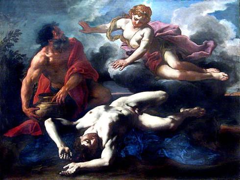 daniel seiters 1685 diana y el cadaver de orion