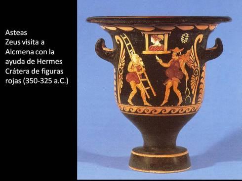 Zeus y Alcmena