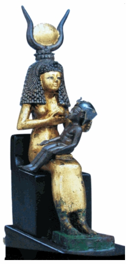 003 isis amamantando a Horus