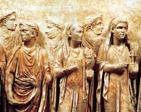 034 ceremonia sacrificio a los lares roma