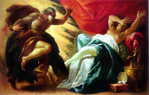 005 Zeus y Sémele. Luca Ferrari