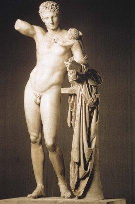 020 Hermes_con el joven dionisos Praxiteles
