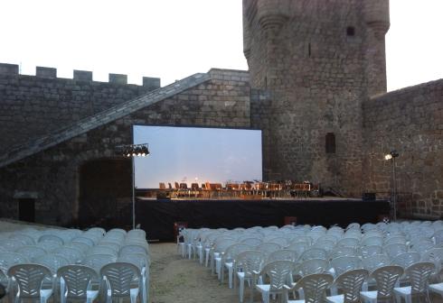 concierto de oropesa escenario