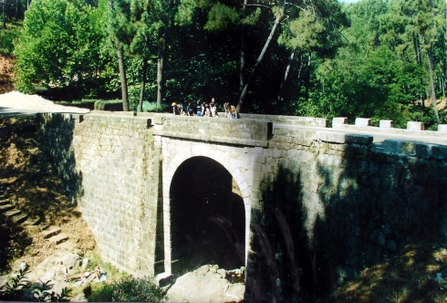 puente presa pelayo