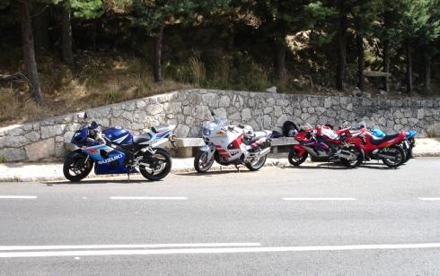puerto del pico motos