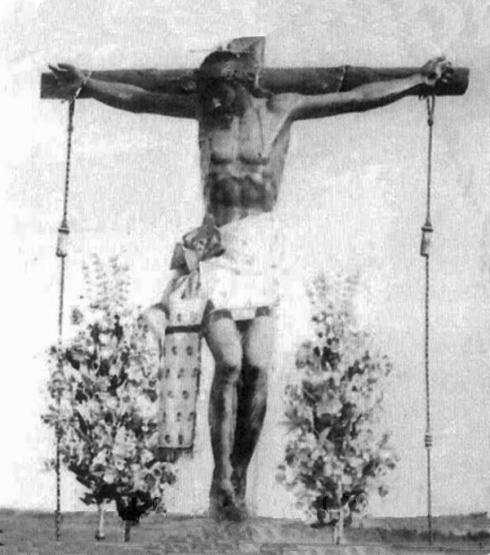 san martin antigua imagen del cristo
