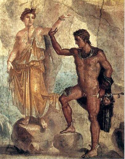 025 perseo y andromeda mural romano