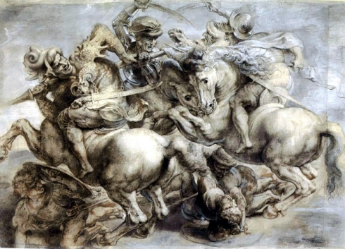 fotos Leonardo-Da-Vinci-The-Battle-of-Anghiari