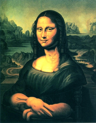 octavio ocampo mona-lisa-s-chair