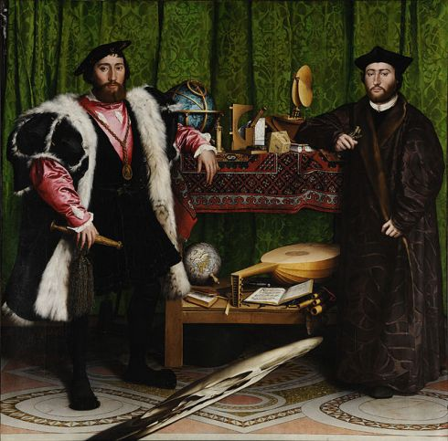 008 Hans_Holbein_the_Younger_-_The_Ambassador